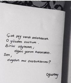 Oğuz Atay Some Sentences, True Lies, Strong Love, Magic Words, Poetry Books, Wallpaper Quotes, Cool Words, Karma, Quotations