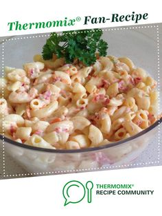 Recipe Creamy Pasta Salad by TaniaH, learn to make this recipe easily in your kitchen machine and discover other Thermomix recipes in Pasta & rice dishes. Chef Recipes, Easy Recipes, Recipies, Cooking Recipes, Pasta With Mayonnaise, Creamy Pasta Salads, Bellini, Rice Dishes, Main Meals