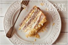 Kostka cappuccino - I Love Bake Polish Recipes, Food Cakes, Baked Goods, Cake Recipes, French Toast, Deserts, Food And Drink, Sweets, Breakfast