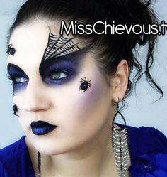 Fantasy Eye Makeup   fantasy makeup - Cobweb (no spiders)
