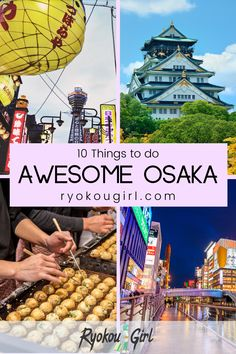 Visitors to Osaka will have their hands full with this list of 10 things to do in Osaka. From the award-winning aquarium to the world's highest escalator ride, see Osaka like you've never seen it…  More