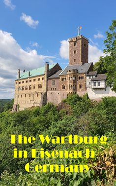 Visiting and staying at the Wartburg in Germany, where Martin Luther translated the New Testament. #travelblog #Germanhighlights #castle #wartburg Road Trip Europe, Europe Travel Tips, Travel Usa, Travel Guides, Places To Travel, Travel Destinations, Places To Visit, European Vacation, European Travel