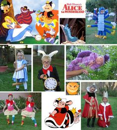 Group Costumes: Alice in Wonderland (and many more)