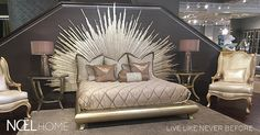 Noël Furniture is a Houston luxury furniture store featuring high quality living room, bedroom, and dining room furniture as well as decor and accessories. Luxury Furniture Stores, Luxury Living, Living Room Furniture, Accent Chairs, Retail, Bedroom, Home Decor, Beds, Noel