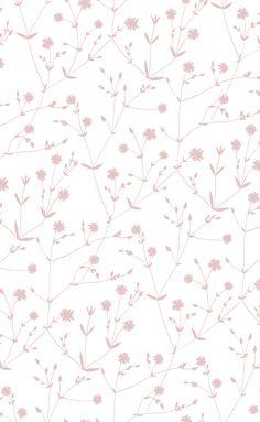 Marimekko Marimekko Illalla Wallpaper Cream/Dusty Rose - KIITOSlife - 1 Plus Iphone Background Wallpaper, Aesthetic Iphone Wallpaper, Wall Wallpaper, Mobile Wallpaper, Pattern Wallpaper, Aesthetic Wallpapers, Mint Wallpaper, Phone Wallpaper Design, Heart Wallpaper