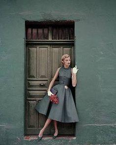 Vintage Glamour, Vintage Beauty, 50s Glamour, 1950s Style, Estilo Retro, Vintage Outfits, Vintage Dresses, 1950s Dresses, 1950s Fashion Dresses