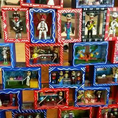 Catrina Shadow Boxes at Barrio Antiguo 725 Yale #HoustonTexas  (713)880 2105
