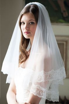 lace trim wedding veil 2016 top 20