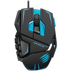 MADCATZ MCB437140002/04/1 M.M.O.(TM) TE Mouse (Matte Black)