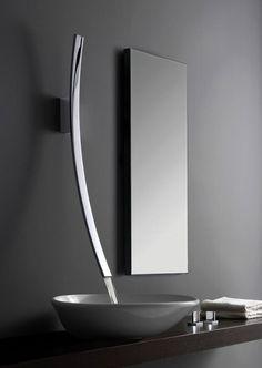 Patricia Gray  http://www.tapforyou.co.uk/waterfall-taps/brass-waterfall-bathroom-sink-tap-wall-mount-t7010