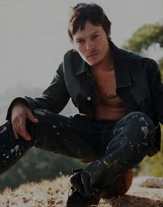 *NIP SLIP OCCURS* | The 23 Sexiest Pictures Of A Young NormanReedus