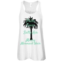 Show Off Your Mermaid Side This Spring & Summer With Mijavee Boutique's Palm Trees..Salty Air..Messy Mermaid Hair Tanks & Racerbacks♀️ •SHOP LINK MijaveeBoutique.com 10% Of All Profits Are Donated To The Alexander Center For Neonatology At winniehospital  #ABoutiqueWithAPurpose  #MijaveeBoutique #PalmTrees #SaltyAir #MessyMermaidHair #BeachTank #Mermaid #BeachTime #Spring #Summer #MijaveeBoutique