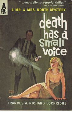 Mort Engle: Death Has a Small Voice by Frances & Richard Lockridge/ Avon T-422, 1953