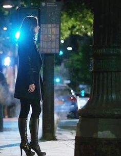 """She�s just the best dressed detective we�ve ever seen. 