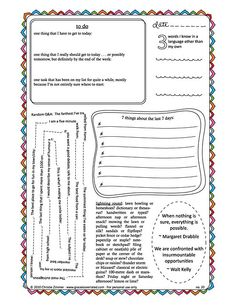 Tons of great journal pages.....(printables)
