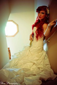 """Ariel"" Bride - Cosplay Wedding"