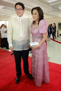 Here are our picks of the most unforgettable outfits on the red carpet in Modern Filipiniana Gown, Filipiniana Wedding Theme, Wedding Dresses, Barong, Pink Lace, Traditional Dresses, Designer Dresses, Lace Skirt, Gowns