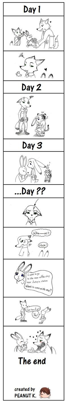 This is the first time I post something on Tumblr XD Just some dumb imagination after watching the famous movie Zootopia. Hope you enjoy~ And…I finally sign up a Tumblr account. It's one of my dream that I can share my works and feel the same...