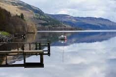 Loch Earn Scotland We went here on our honeymoon.  This is the lake area that the McNish Clan is from.  There is an island that is famous for a battle between the McNish's and the McNabb's