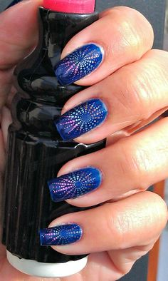 NY Eves's Manicure 2012- Fireworks - RCM Midnight Affair
