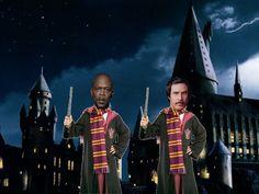 Samuel Jackson & Will Ferrell meet Hogwarts