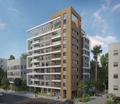 Pinkas Ramat Gan Urabn Renewal - Auerbach Halevy Architects