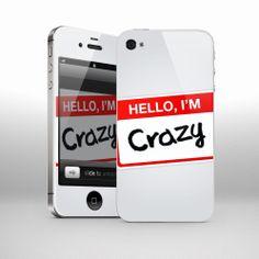 SKIN-uri personalizate! CARCASE personalizate! comanda direct pe site: www.wrappz.ro multe modele de telefoane, laptopuri, tablete Im Crazy, Phone Cases, Electronics, Consumer Electronics, Phone Case