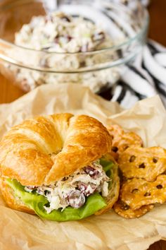 This easy chicken salad recipe, filled with fresh grapes and roasted pecans, makes a quick, delicious, and satisfying meal!