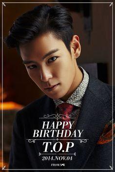 Happy Birthday TOP!! #HappyTopDay