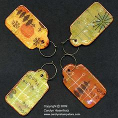 Prompt #14 - Let's mingle! Mid-century wine glass charms. http://carolynsstampstore.com/catalog/images/gallery/wineglasscharms_large.jpg