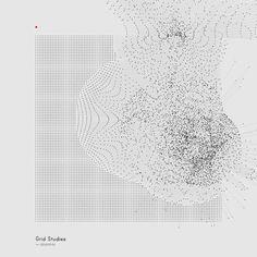 skullvisiter: Generative Sketches (); Grid Studies by Refik...