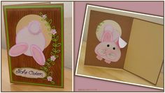Easter Card Bunny Oster Hasen Karte 2015 Blog, Tutorials, Frame, Cards, Inspiration, Home Decor, Homemade Home Decor, Biblical Inspiration, Blogging