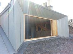 le studio cossais konishi gaffney a construit une large lucarne afin de convertir le grenier d - Lucarne Moderne Et Toit Tuile
