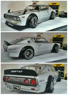 Nissan Skyline 2000 GT-R #drift47workshop #abchooby #rcdrift