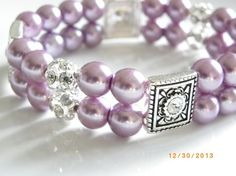 Pearl Bracelet, Beaded Bracelets, Bridesmaid Bracelet, Sterling Silver Bracelets, Wedding Jewelry, Swarovski Crystals, Just For You, Stud Earrings, Pearls