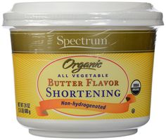 Spectrum Organic All Vegetable Butter Flavor Shortening -- 24 oz >>> Want additional info? Click on the image.