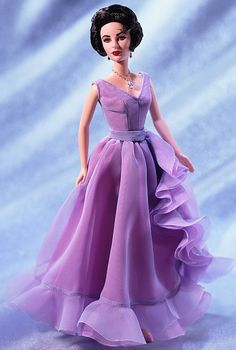 New Barbie Dolls | Elizabeth Taylor has a new Barbie doll dedicated to her. | Beauty And ...