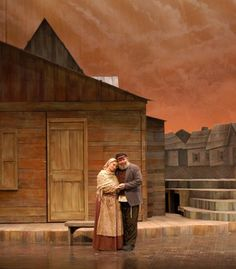 fiddler on the roof set design pictures - Google Search