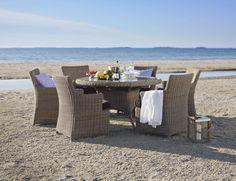 Spisebord og stoler til terassen fra Living
