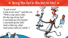 The Cat in the Hat - Read & Learn - Dr. Seuss by Oceanhouse Media ($4.99) digital book app brings The Cat in the Hat to life w/ delightful animations & Learning Activities that help reinforce key literacy skills! Tap, drag, and tilt your device to find playful surprises throughout the book - Practice spelling, phonics, rhyming, and reading comprehension in new Learning Activities - Read along with highlighting narration, or read it yourself - Explore new vocabulary by tapping words and pictu...