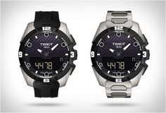 TISSOT T-TOUCH EXPERT SOLAR: the world's first solar-powered watch with touch-screen control.