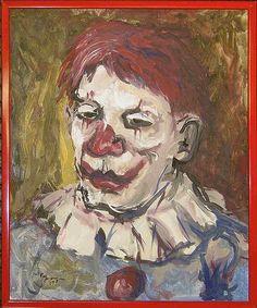 Evil Hideous Clown by Evil Telepathic Monkey, via Flickr