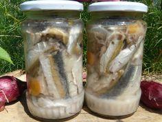 Conserva de peste (oblete) – cufarul cu bucurii Pickles, Cucumber, Fresh Rolls, Mason Jars, Canning, Ethnic Recipes, Food, Tv, Preserve