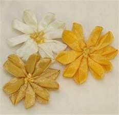 Ribbon Embroidery Large Daisy Flower-ribbon embroidery daisy