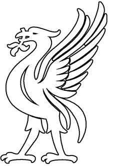 Coloring Pages Of A Bird Elegant Liverpool Liver Bird Coloring Pages Liverpool Tattoo, Liverpool Fc Badge, Liverpool Bird, Liverpool Cake, Football Liverpool, Bird Drawings, Easy Drawings, Liverpool Fc Wallpaper, Tattoo