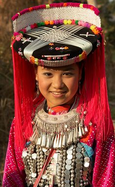 Northern Thailand | Lisa Tribe Woman © mkelpie, via PBase
