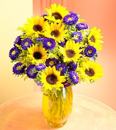 I wouldn't want ONLY these two flowers, but included in a bouquet would look nice.