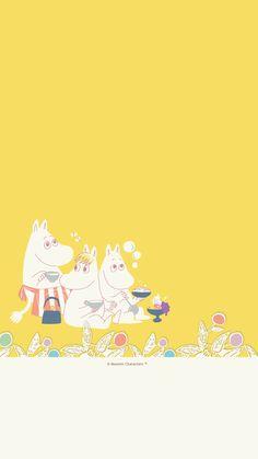 Moomin Wallpaper, Teen Wallpaper, Mickey Mouse Wallpaper, Iphone Background Wallpaper, Naruto Wallpaper, Kawaii Wallpaper, Pattern Wallpaper, Moomin Valley, Tove Jansson
