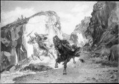 L'Embuscade, souvenir d'Espagne -Henri Chartier