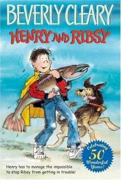Henry and Ribsy (Henry Huggins, book by Beverly Cleary - book cover, description, publication history. Cool Books, I Love Books, Used Books, Books To Read, Reading Books, Guided Reading, Henry Huggins, Beverly Cleary, Animal Books